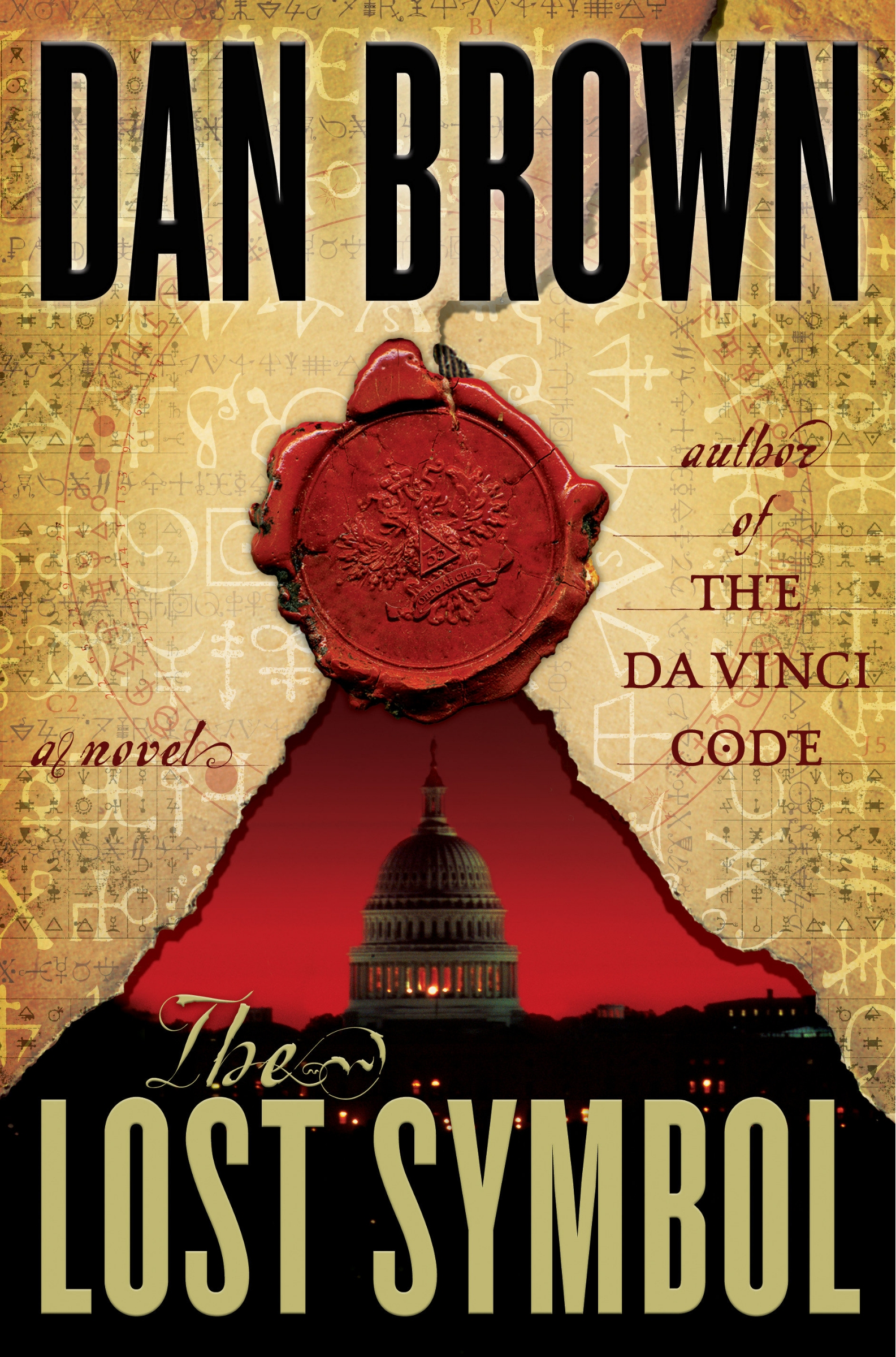 Dan Brown Lost Symbol September 15th