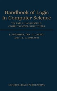 Handbook of Logic in Computer Science: Volume 2. Background: Computational Structures