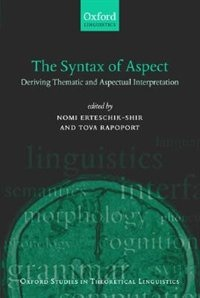 The Syntax Of Aspect