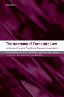 This is the long-awaited second edition of this highly regarded comparative overview of corporate law. This edition has been comprehensively updated to reflect profound changes in corporate law...