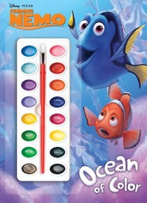 Finding Nemo Deluxe Paint Box Book (disney/puxar Finding Nemo)