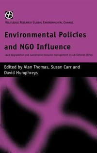 Environmental Policies and N.G.O. Influence