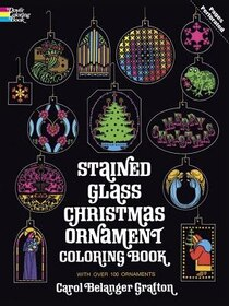 Xmas Ornaments Stained Glass