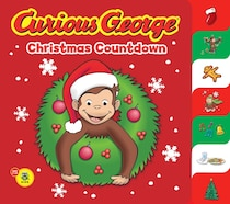 Curious George Christmas Countdown Tabbed BB