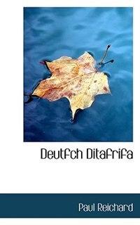 Deutfch Ditafrifa
