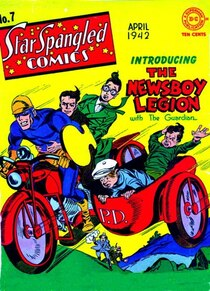 The Newsboy Legion Vol. 1 Featuring Joe Simon & Jack Kirby