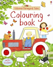 Colouring Book Farmyard Tales