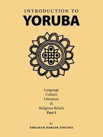Introduction to Yoruba