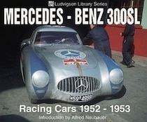 Mercedes-benz 300sl Racing Cars 1952-1953