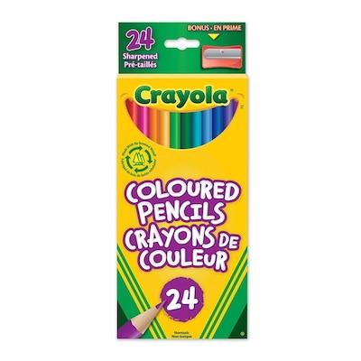Crayola 24 IQ Coloured Pencils by Crayola