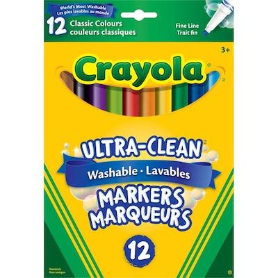Crayola 10 Fineline Original Markers by Crayola